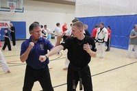 Master Burk teaches at the NTS - 2015