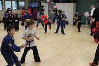 Sparring drills for the kids class NTS - 2015